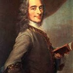François-Marie Arouet, known by his nom de plume, Voltaire (21 November 1694 – 30 May 1778)