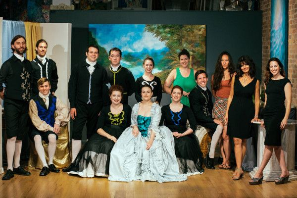 The Cast & Crew of Urania The Play
